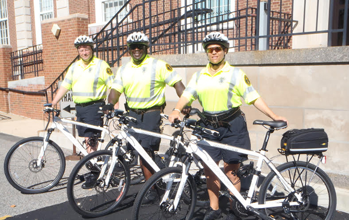 Adelphi University Bike Patrol Unit